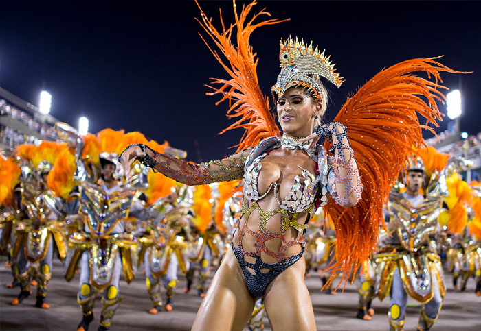 Brazilian Carnival female costume with feathers  sc 1 st  Dance studio in Dubai & Dance For You