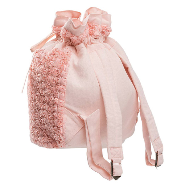 Rose tulle mesh dance backpack by Wear Moi