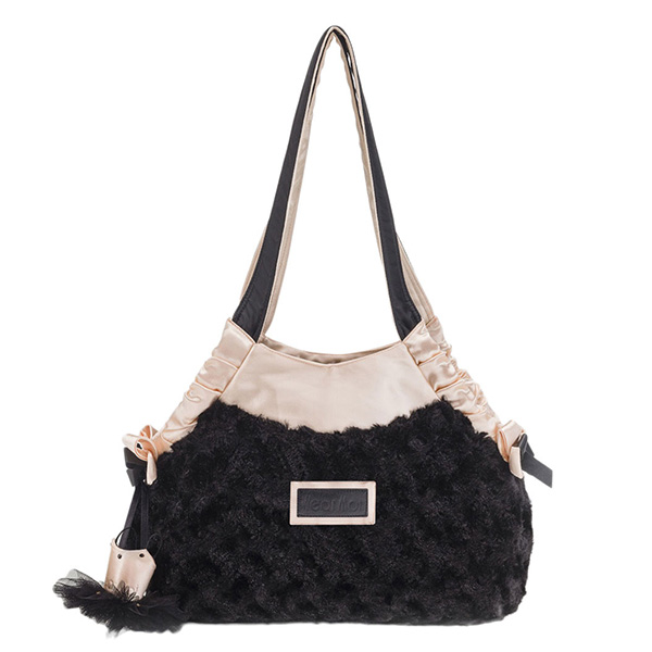 Wear Moi Black Dance Bag