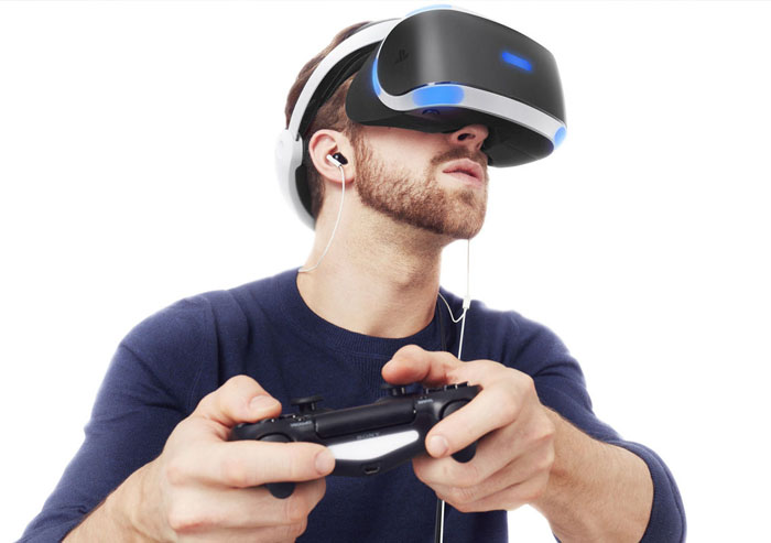 Man Playstation VR