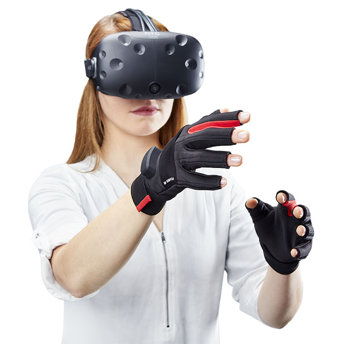 VR Gloves Girl