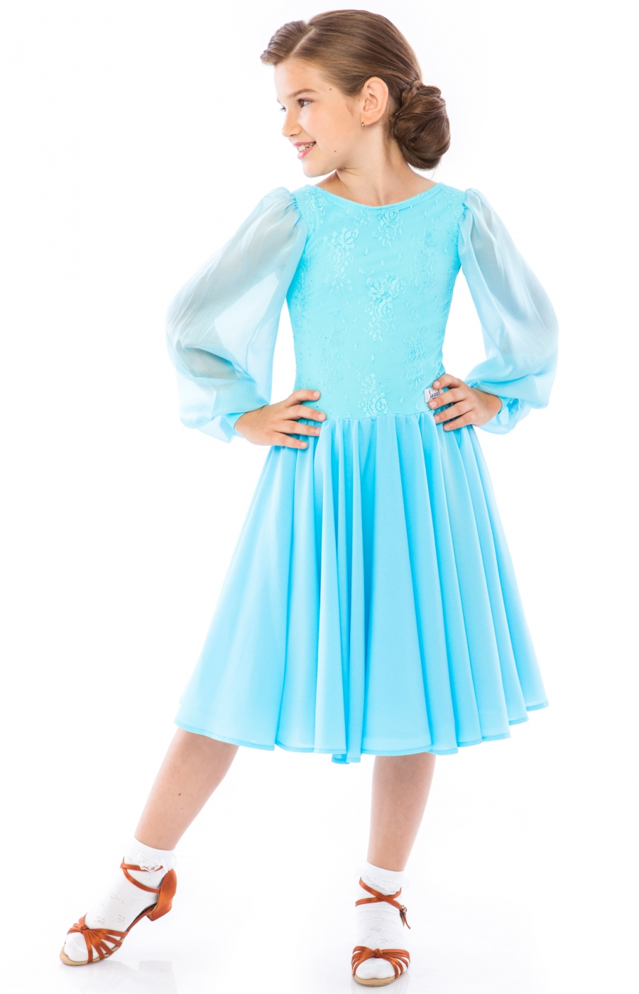 Teen Girl Juvenile Practice Ballroom Dress