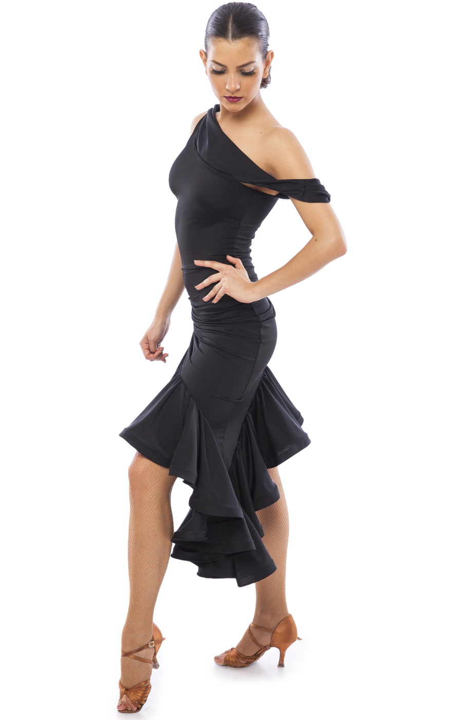 Black Latin Dress