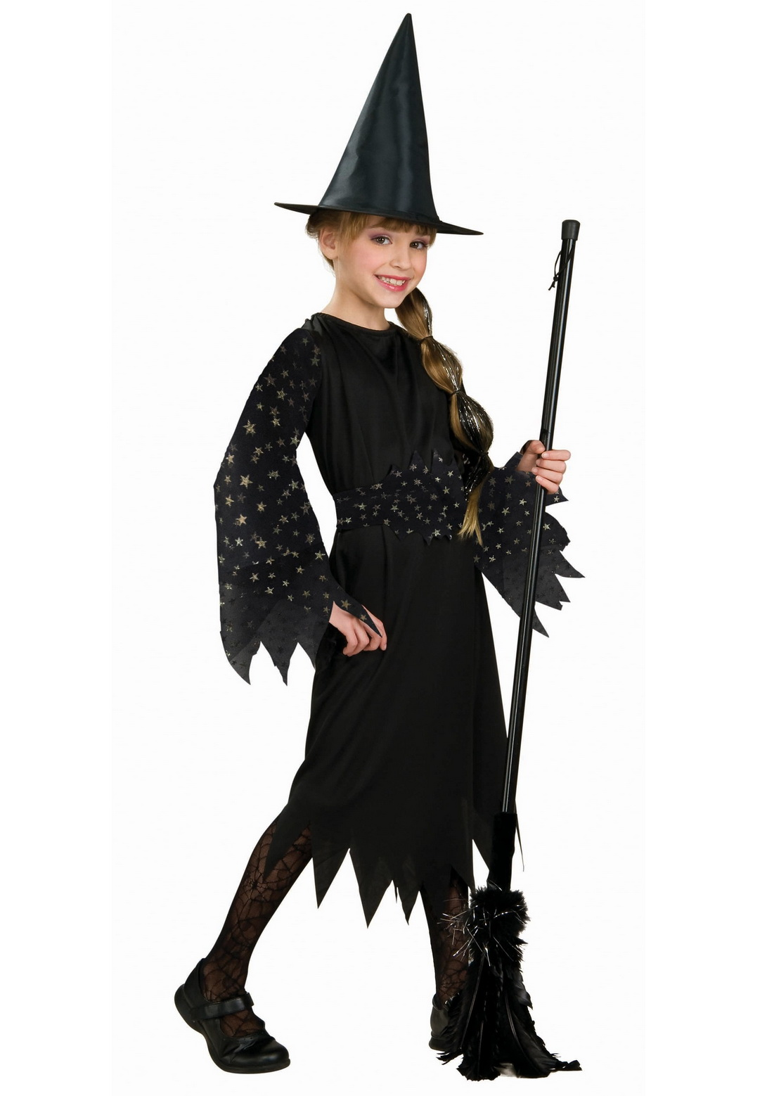 Child Spider Web Witch Costume