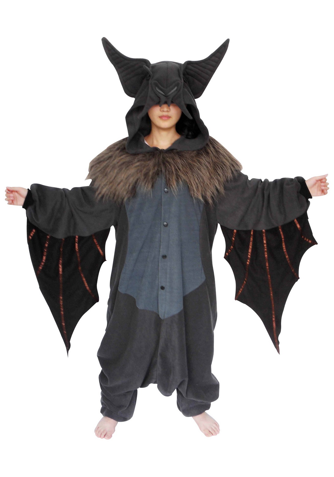 Kid Bat Pajama Costume