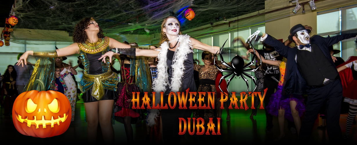The Halloween Party: Dancing in Dubai