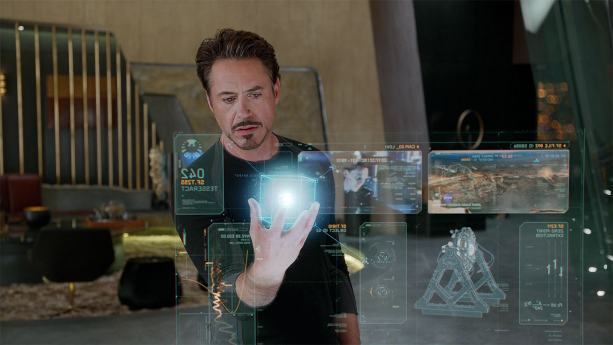 Holographic interface, Iron Man movie