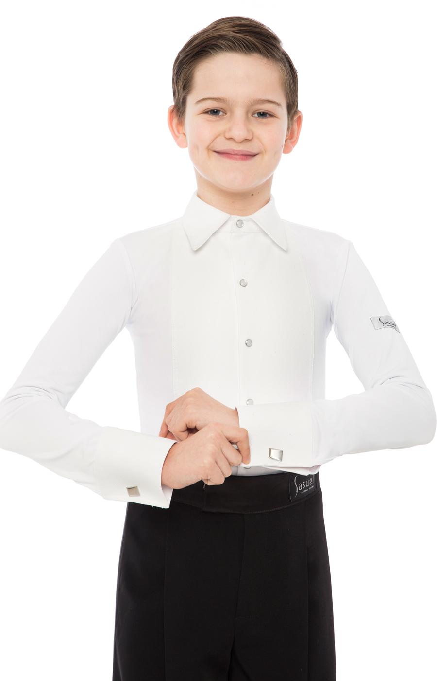 5954ca6b60c0 Boys Juvenile Ballroom Shirt For Vest