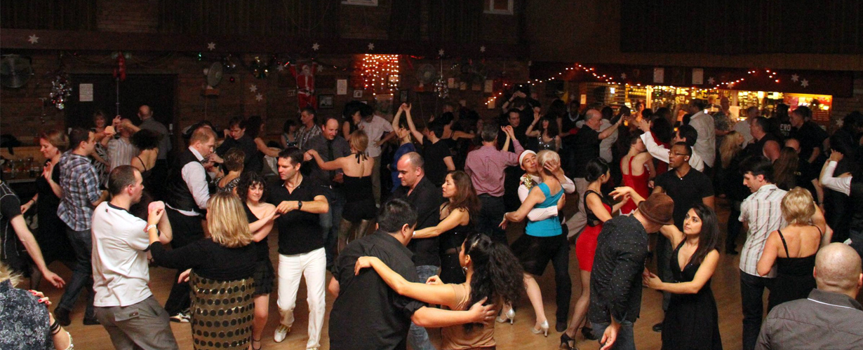 Salsa Dance Party at restaurant, bar, cafe