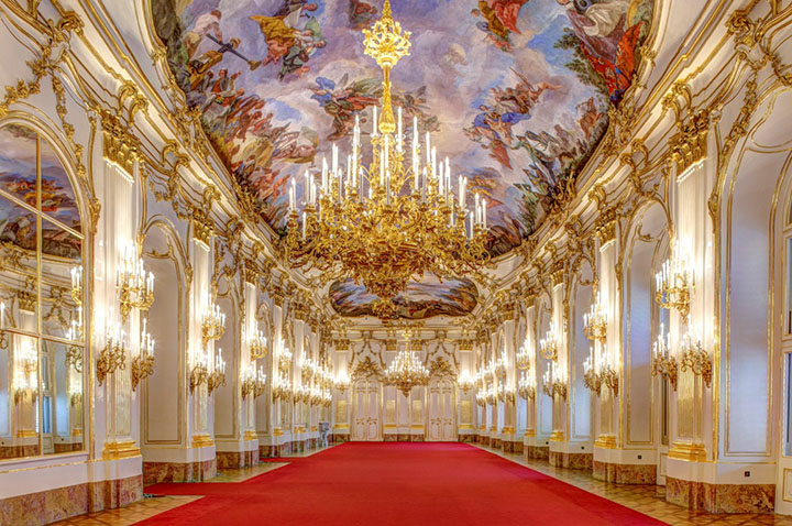 Hofburg interior hall