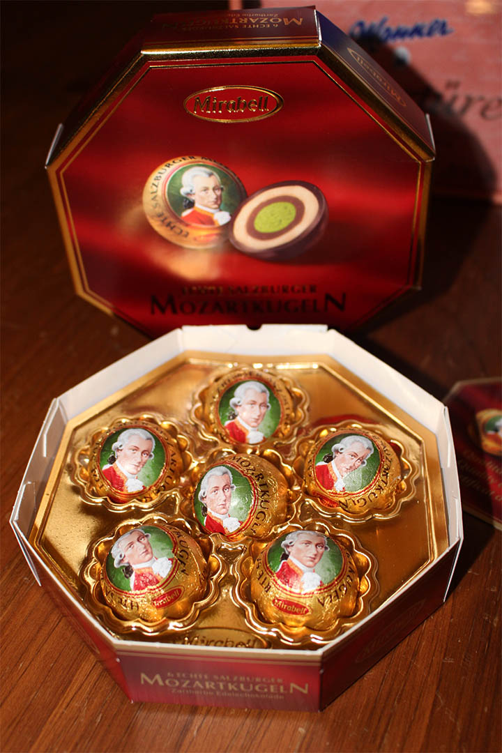 Mirabell Mozart Chocolate from Austria