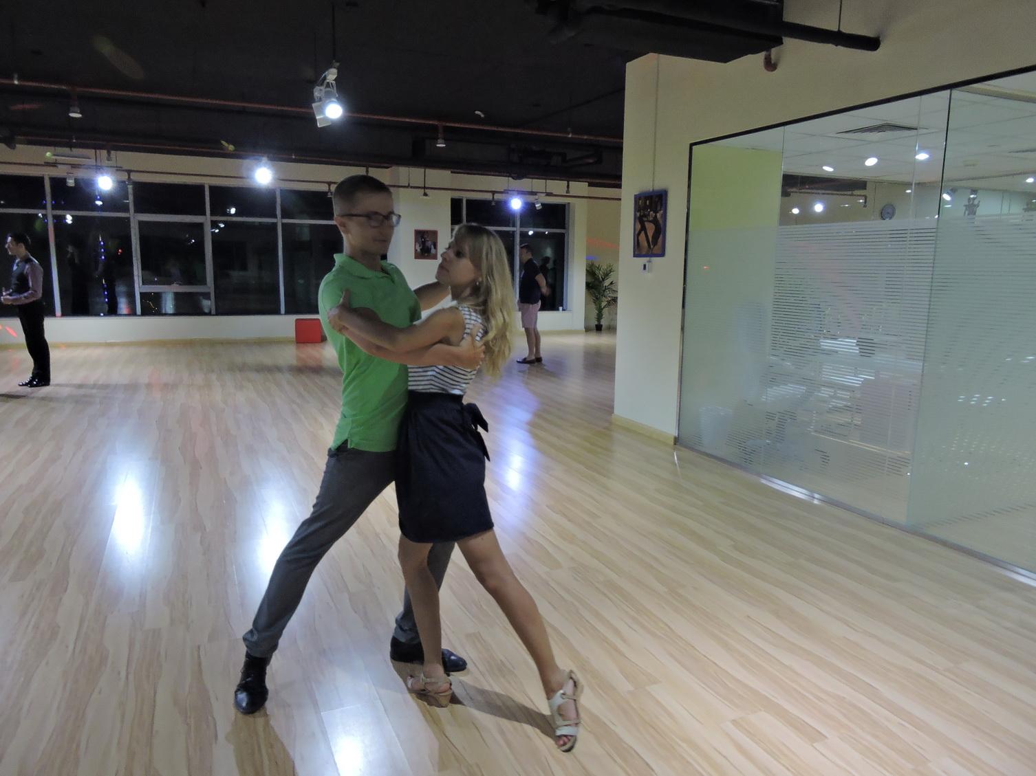 Dubai Wedding Dance on Hustle Ballroom Dance Steps