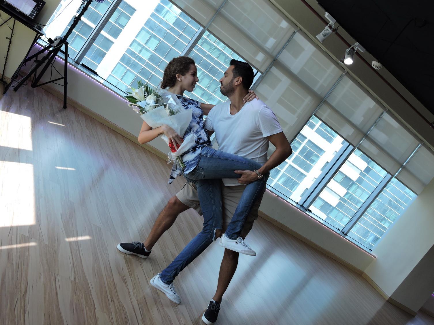 Dubai Wedding Dance on Hustle Basic Dance Steps