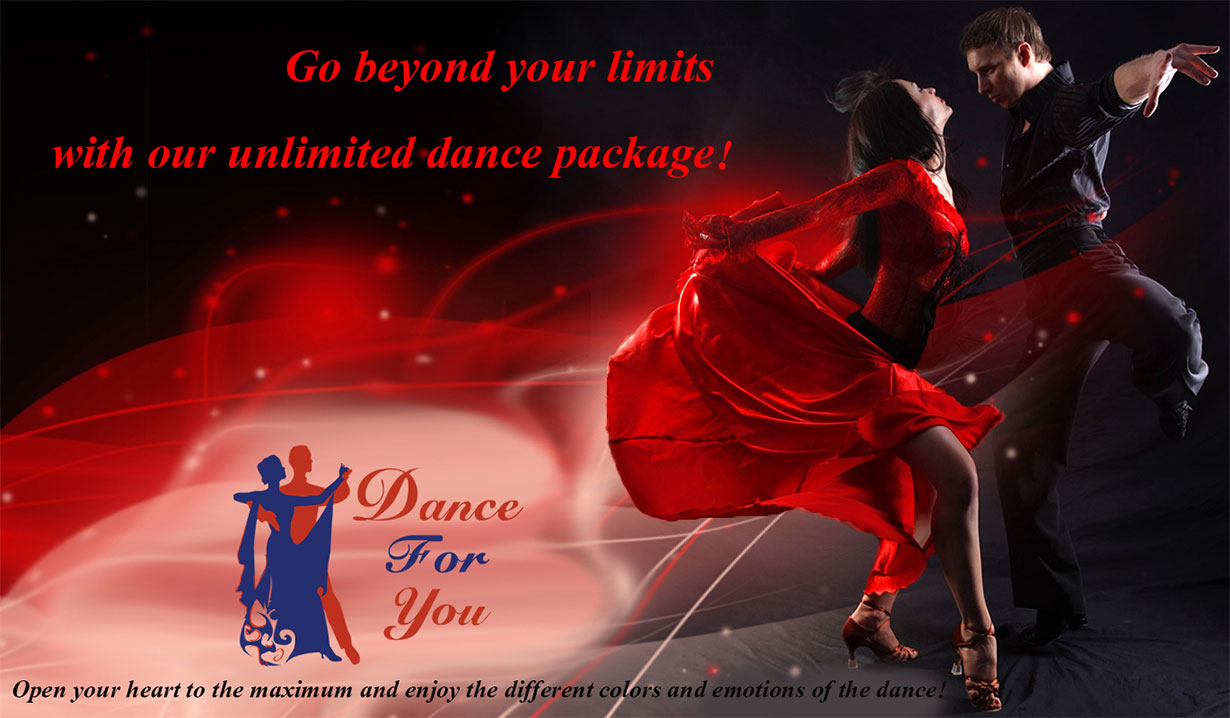 Special offer VIP for dance lessons banner