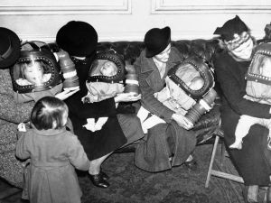 Gas Masks For Babies Tested At An English Hospital 1940 2