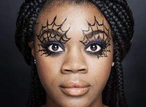black-halloween-female-makeup