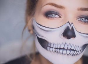 female-jow-skeleton-makeup