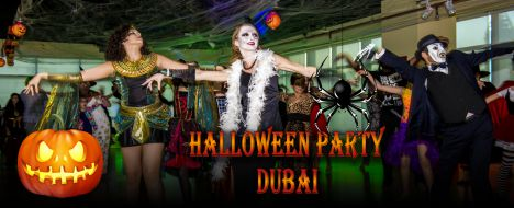 The Halloween Party: Dancing in Dubai
