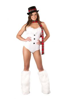 Ice Queen Women Christmas Sexy Costume