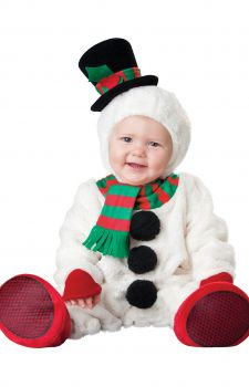 Infant Silly Snowman Costume