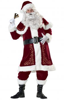 Jolly Ole St Nick Santa Costume