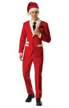 Mens Christmas Santa Suit