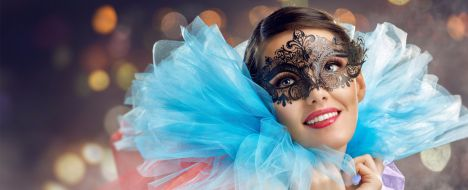 Masquerade Ballroom Dancing Party