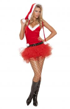 Womens Santa Sweetie Costume