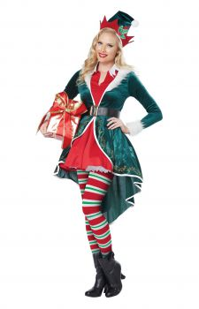 Womens Sexy Elf Costume